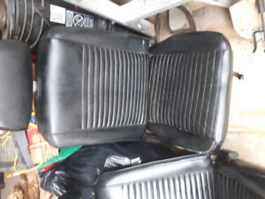 1969 mustang and cougar front low back bucket seats