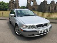 2003 (53) Volvo V40 1.9D ( 115bhp ) 2003MY S Cheap Car long MOT