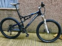Boardman 19 inch Full Suspension MTB With RockShox Reverb Dropper Post -Used - With Original Receipt