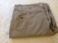 Summer weight Cotton Pants by Roots, size 38