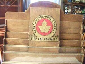 Vintage Oak Literature Display Belleville Belleville Area image 5