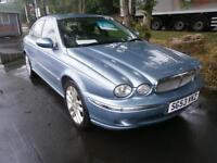 53 Jaguar X-TYPE 2.0 V6S in blue