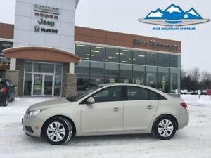 2014 Chevrolet Cruze 1LT  ACCIDENT FREE, LOW MILES, LIKE NEW
