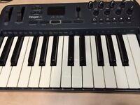 Oxygen 25 midi keyboard by m-audio