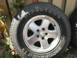 Firestone Jeep Tires and Rims