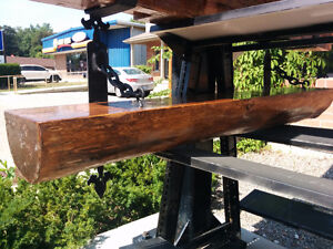 Cedar log shelf Kitchener / Waterloo Kitchener Area image 1
