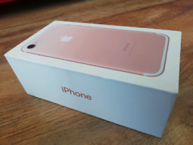 Apple iPhone 7 32GB Rose Gold on Vodafone/Giff Gaff - Mint Condition