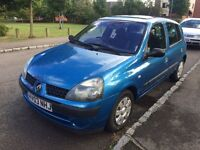 Renault Clio 1.4 Petrol one year mot great condition