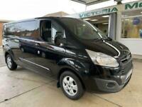 2017 Ford Transit Custom 2.0 290 LIMITED LR P/V 129 BHP PANEL VAN Diesel Manual