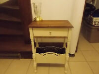 Antique Refinished Hall or Side Table