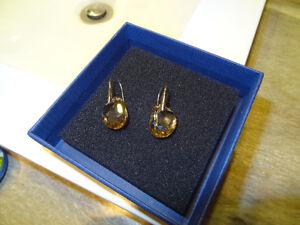 Boucles d'oreilles authentique Swarovski