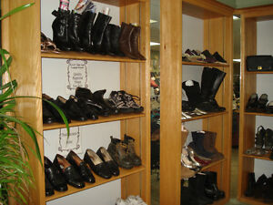 Repaired Shoes For Sale and Purses. Some leather coats too!