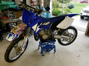 2002 Yamaha Yz125 or may take trade for Snowmobile