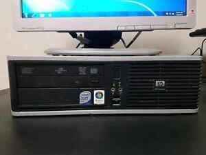 Hp dual core complete computer