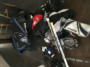 Goalie Equipment (Youth 8-10/Adult)