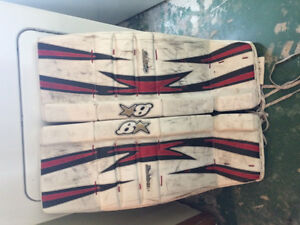 Goalie pads for sale 33 +1