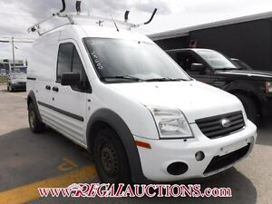2010 FORD TRANSIT CONNECT XLT CARGO VAN XLT