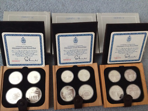 1976 Montreal Canadian Olympic Proof Sets IMMACULATE!!!