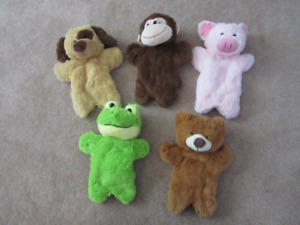 Soft Hand Puppets
