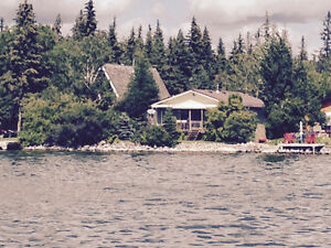 Lake front cabin for sale