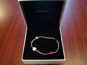 PANDORA ESSENCE COLLECTION BRACELET & CHARMS *NEW PRICE*