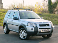 2006 56 Land Rover Freelander 2.0 TD4 HSE 5dr WITH FSH+HEATED LEATHER+H/K SOUND