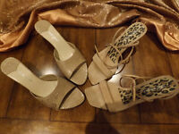 TWO BRAND NEW NINE WEST SANDALS IN ORIGINAL BOXES