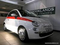 Fiat 500 1.4I-16V POP [FIAT SERVICE HISTORY, PANORAMIC ROOF and LOW MILES]