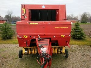 1997 New Holland 644 Round Baler London Ontario image 2