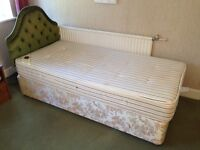 Single bed with sweet dreams mattress