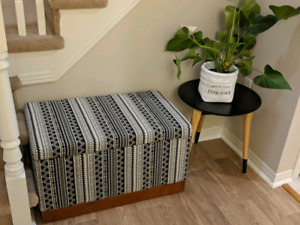 Beautiful brand new condition bench with storage