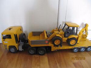 Camion Bruder et buldozer