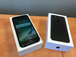 iPhone 7 - Black - 32gb - BELL & VIRGIN