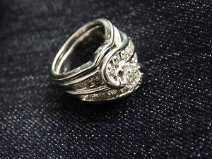 ❤❤14K White Gold Bridal Set❤❤