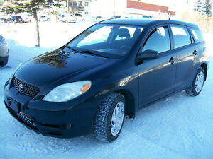2003 TOYOTA MATRIX SAFETY INSPECTED