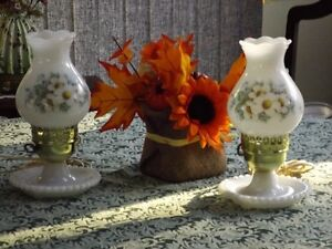 Antique Floral Night Lamps Cornwall Ontario image 1