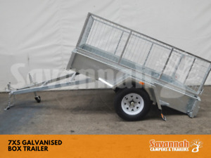 7X5 Galvanised Box Trailer with 600 Cage Edmonton Cairns City Preview