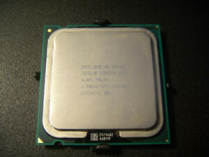 Intel Socket 775, e8400 @ 3.0 GHz/6M Cache/1333 FSB