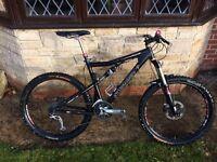 Santa Cruz blur LT full suspension mountain bike