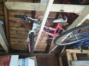 girls bike for 6 - 7 year old $30