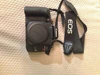 Canon Elan 7E (film) camera + 2 lenses