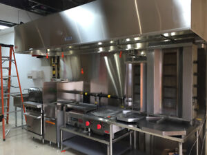 Restaurant Exhaust hood Installation