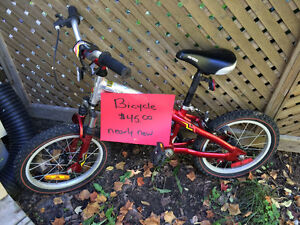 Bicycle excellent condition.