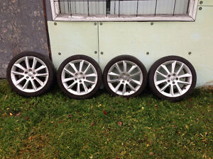 4 Toyota rims and tires Prince George British Columbia image 1