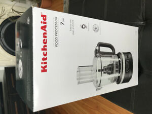 Kitchaid Food Processor. Never used.