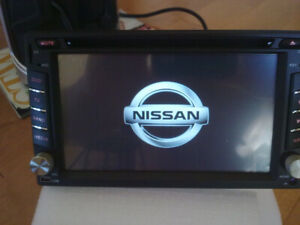 nissan special fit navigation bluetooth radio dvd audio player