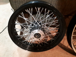 "Ultima 16"" rear wheel Harley/Custom"