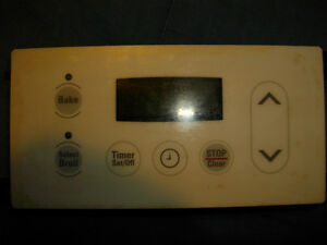 Electrolux kitchen stove timer control board (bake & broil)
