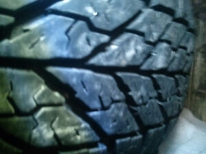 FOUR.  215/70/15.  WINTER TIRES. 65% THREAD.  $80 FOR THE SET