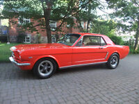 1964 1/2 Ford Mustang coupe - frame off restoration